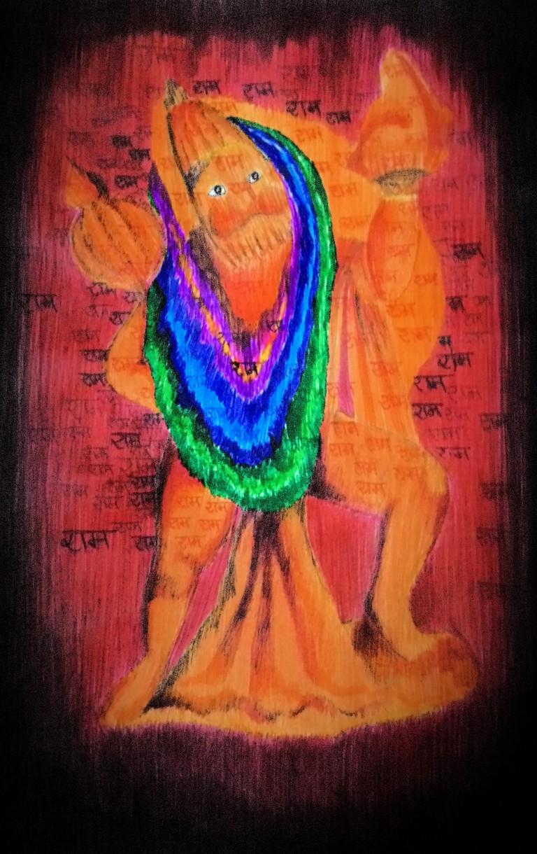 Hanuman The Super MonkeyMan